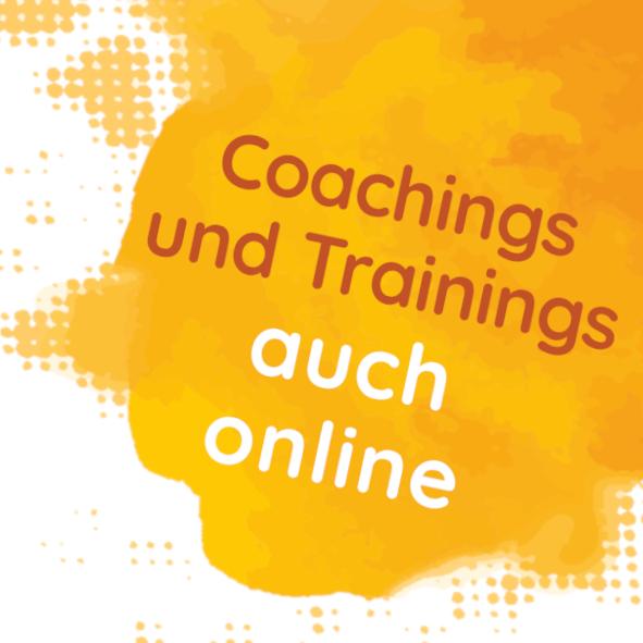 Coaching und Trainings online